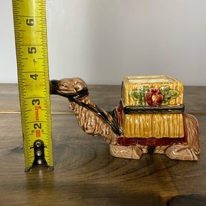 Accents - Vintage ceramic camel planter